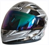 SHIRO SH-816 TIGER kask motocyklowy czarno szary 